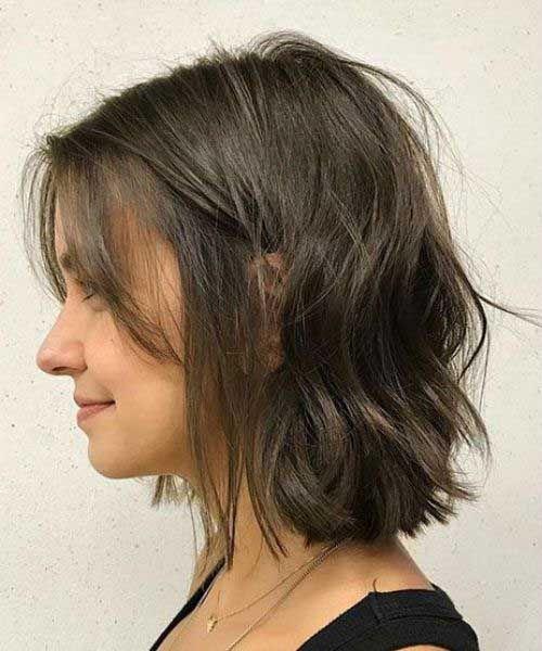 Https Www Eshorthairstyles Com Wp Content Uploads 2019 07 19 Short Haircut For Thin Hair Jpg Thin Hair Haircuts Thick Hair Styles Wavy Bob Haircuts