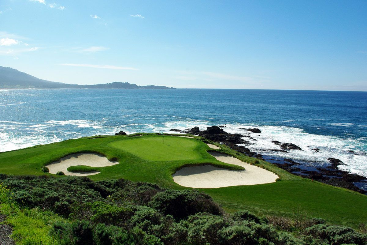 Pebble Beach Golf Links California
