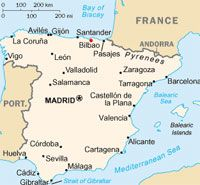 Bilbao Map Spain Pinterest Map Of Spain Map And Madrid Spain Map