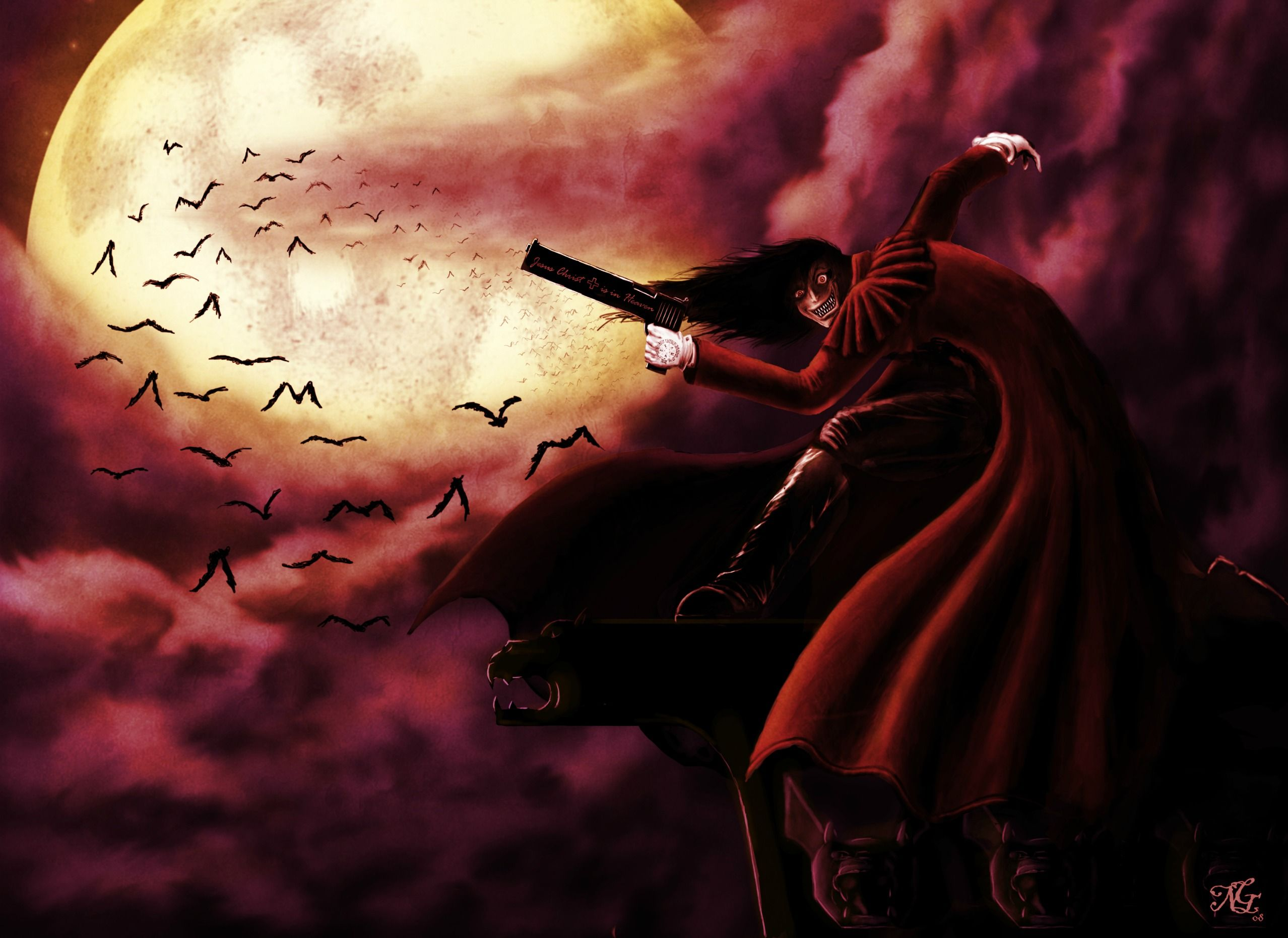 Hellsing Ultimate, Alucard, I belong to the night