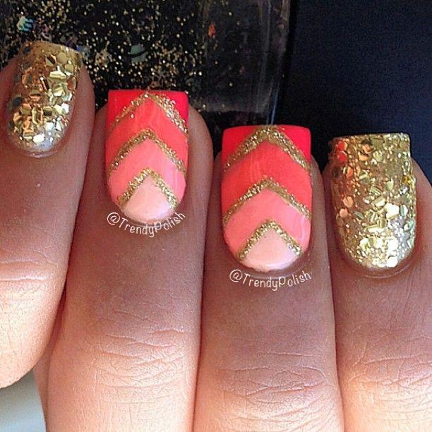 Instagram photo by trendypolish #nail #nails #nailart | Nails! | Pinterest  | Nail nail, Instagram and Ombre - Instagram Photo By Trendypolish #nail #nails #nailart Nails