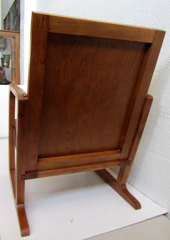 Kem Weber American Art Deco Arm Chair For Mueller Furniture