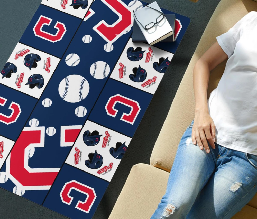 Pro Shop Cleveland Indians Coffee Table For Family Fans