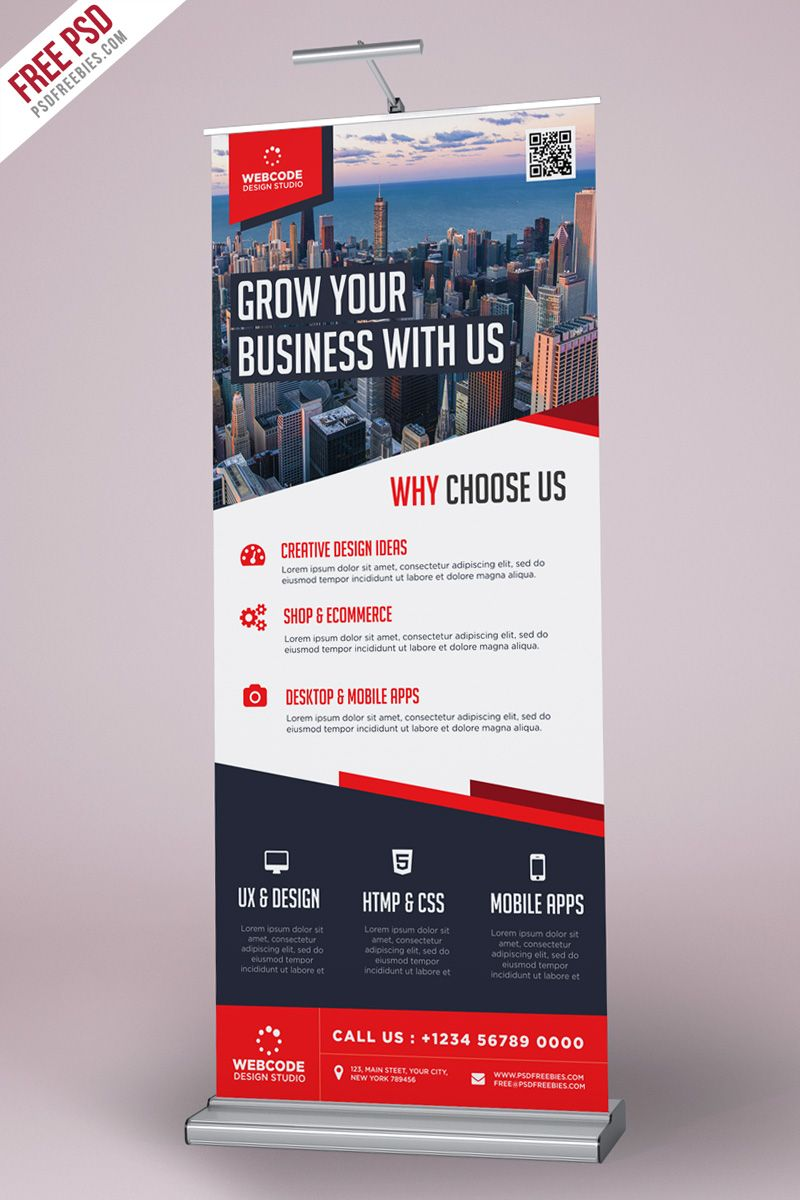 Mobile banner design psd — 1