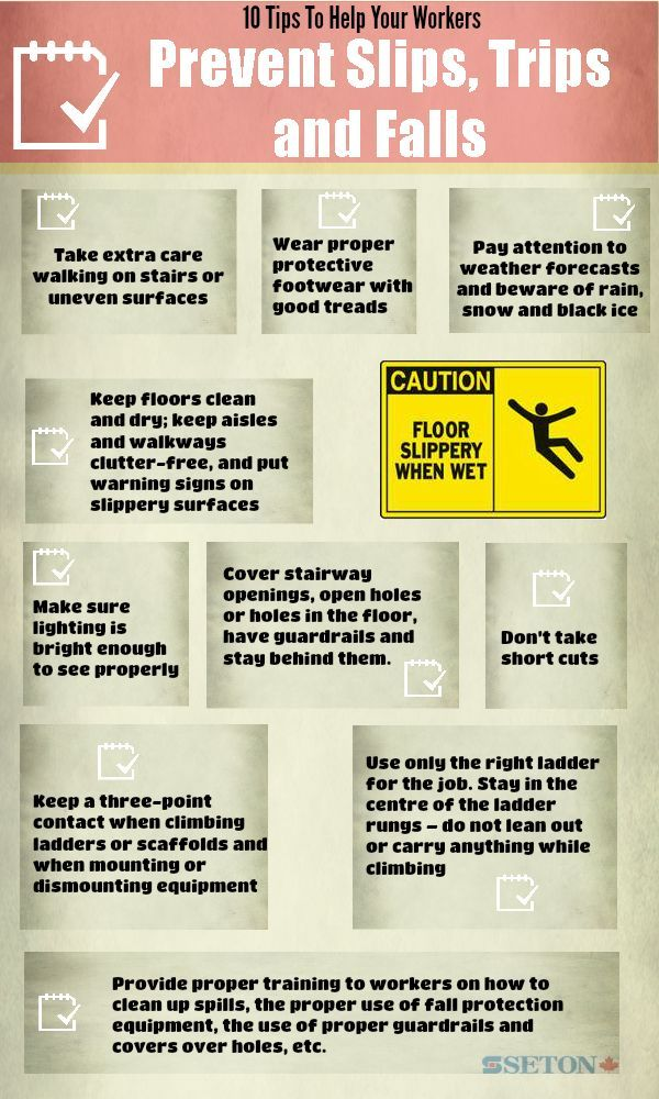 10 Tips To Help Your Workers Prevent Slips, Trips and