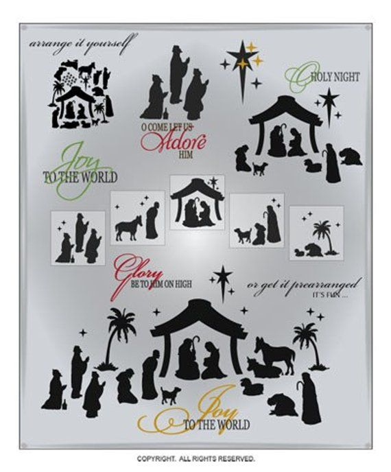 Download Nativity SVG Files - Christmas Cuttable SVG Files ...