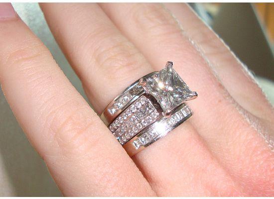 3 carat diamond ring 11jpg 550400 - 3 Carat Wedding Ring