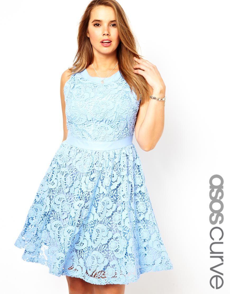 Salon lace dresses plus size