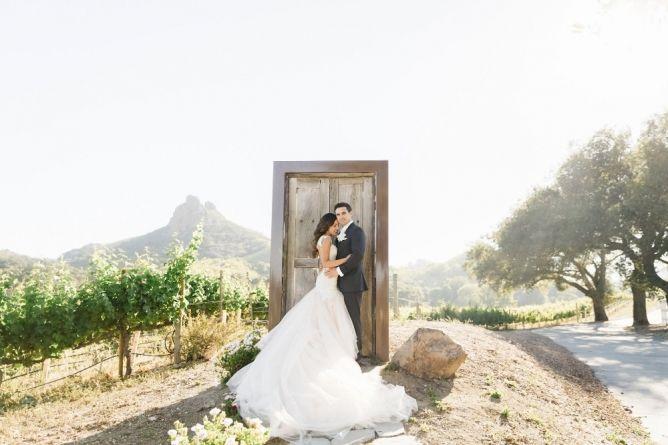 Anna & Derek - California Wedding http://caratsandcake.com/AnnaandDerek
