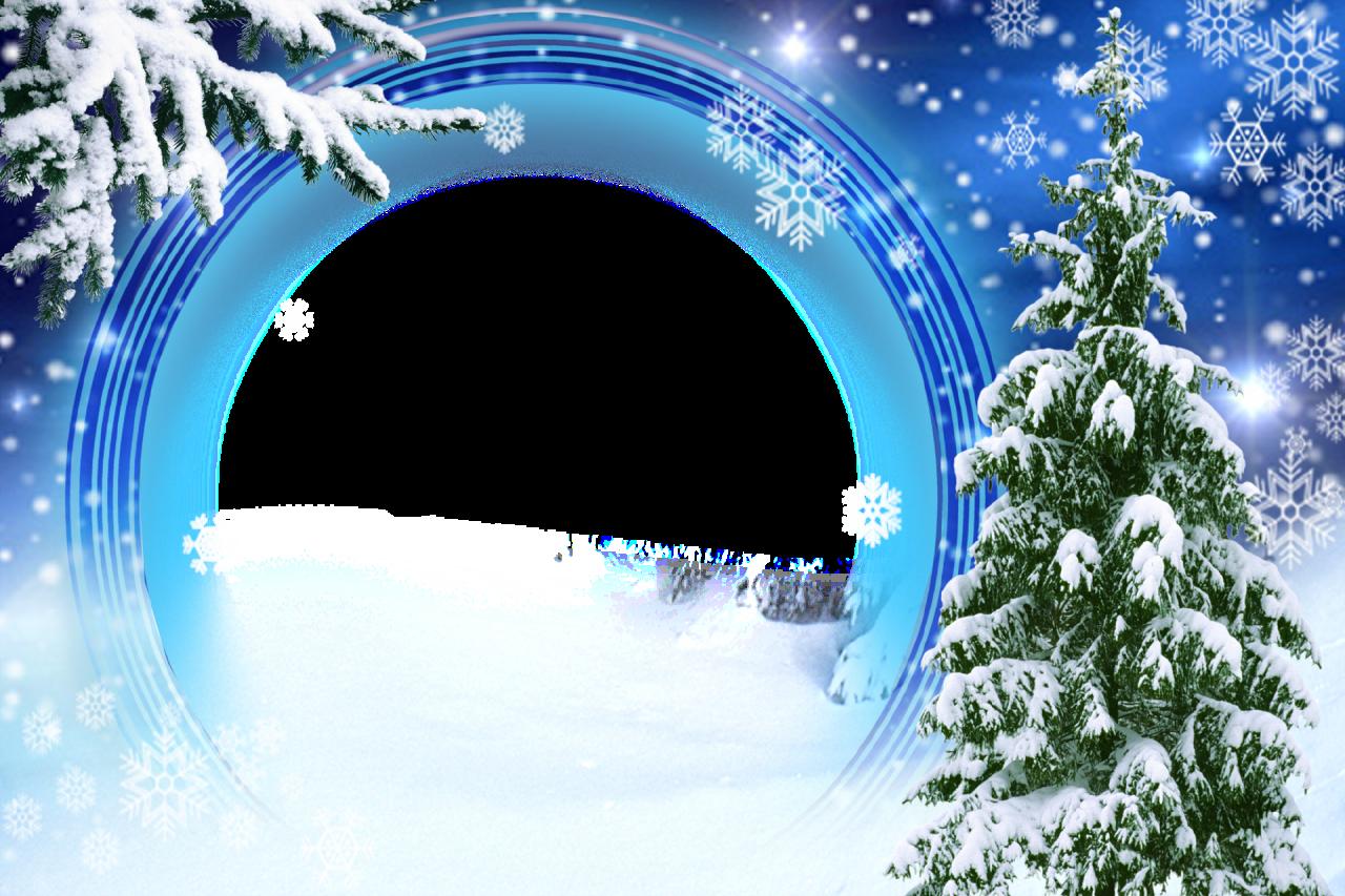 картинки зима для рамок