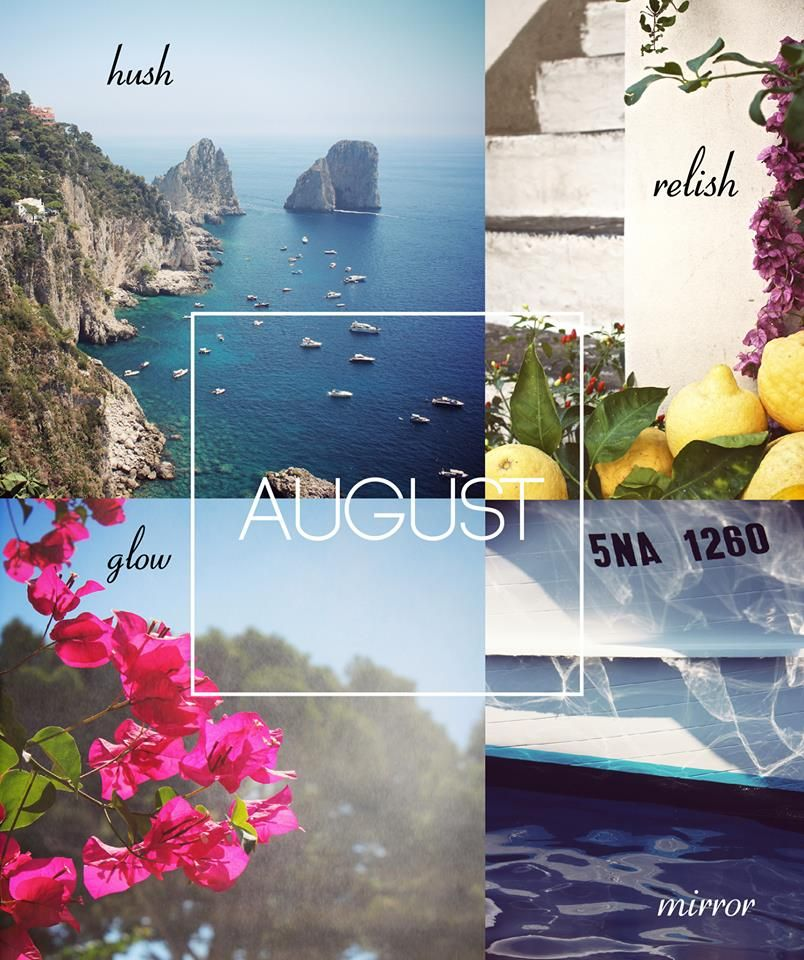 Marvelous Hello August! #seasons #month #summer