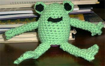 Easter Egg Frog Buddy
