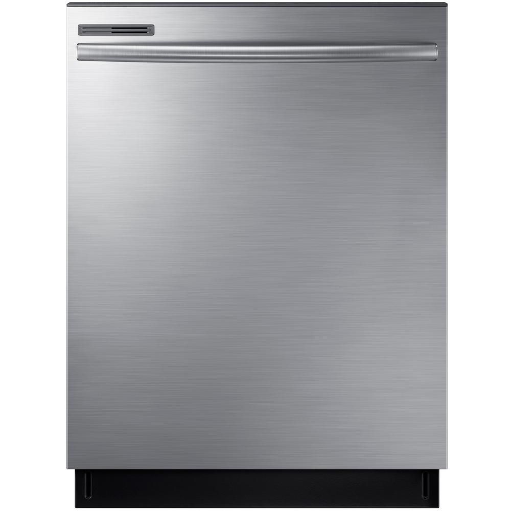 Samsung 24 in top control dishwasher with stainless steel