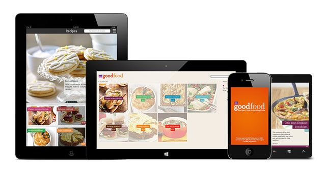 Good food mobile apps food healthy choices and recipes good food mobile apps forumfinder Gallery