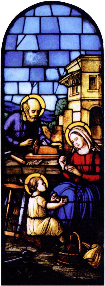 Vetrata dell'abside di San Giuseppe