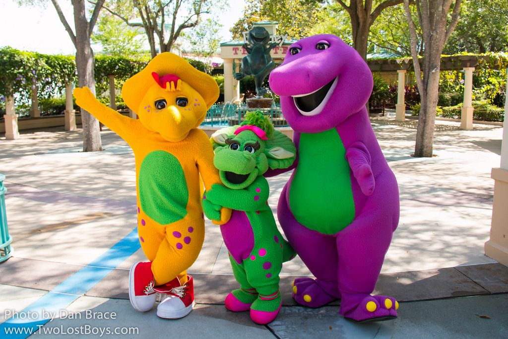 Baby Bop At Disney Character Central Barney Friends Bop Cbeebies