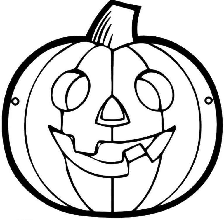 Maschere Di Halloween Da Colorare Per Bambini