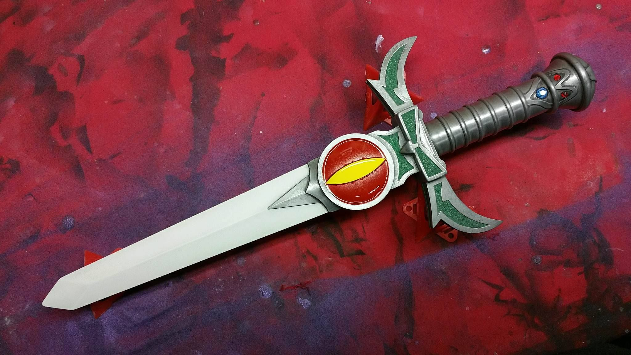 Sword Of Omens In Dagger Form With A Custom Eye Of