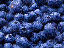 Blueberries are good and good for you.