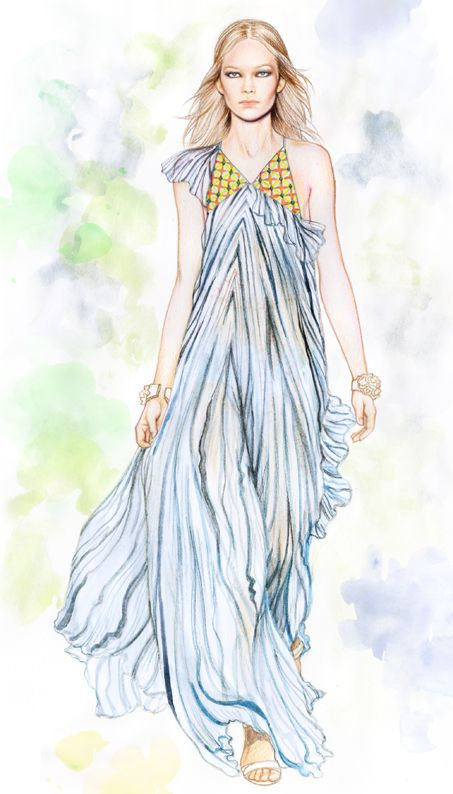 Minni Havas fashion illustration