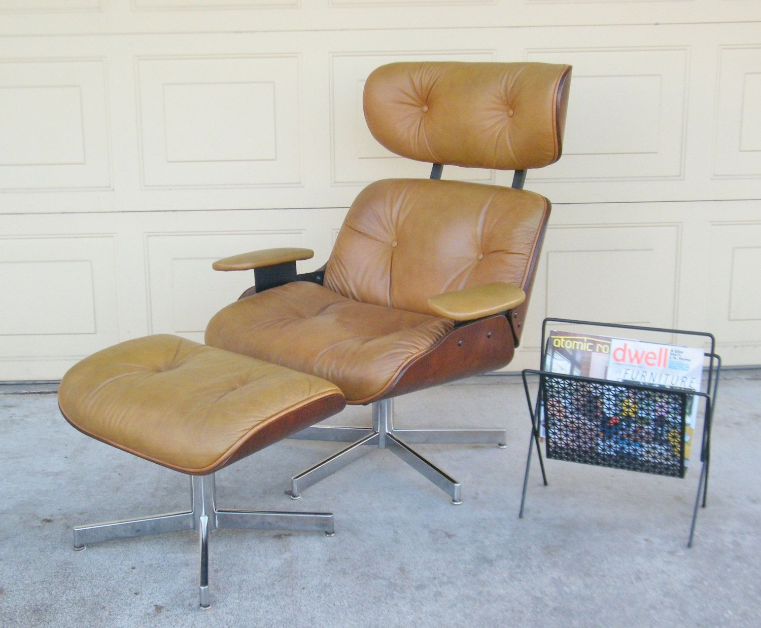 Vintage Plycraft Lounge Chair Eames Lounge Chair Replica By