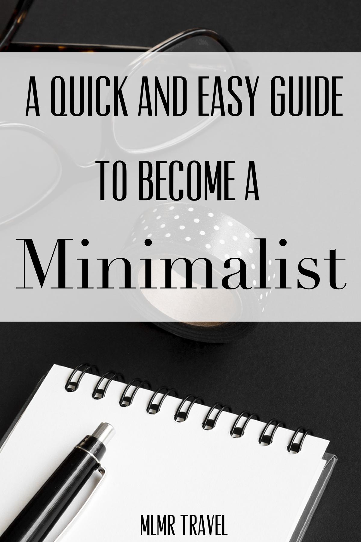 Minimal Minimalism Less Simple Simpleliving