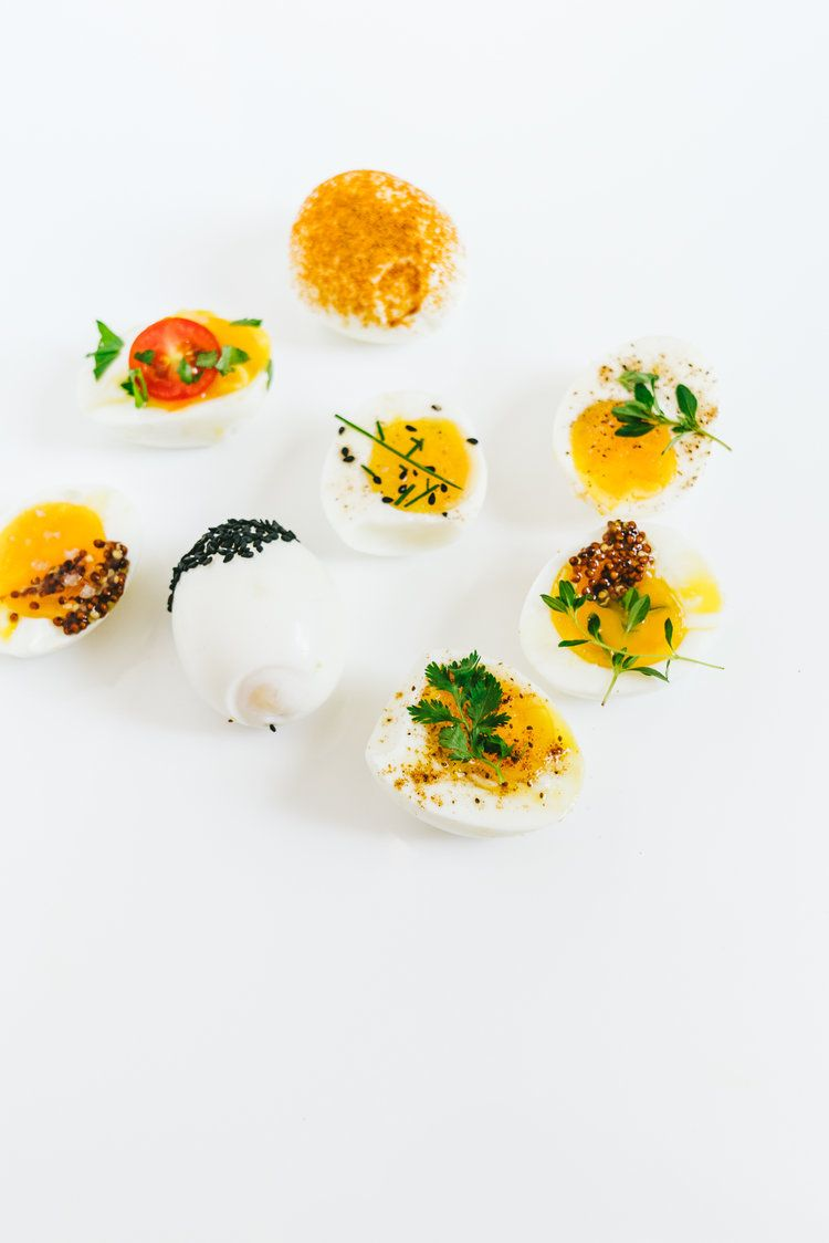Seasoning Dipped Soft Boiled Eggs — OhCarlene