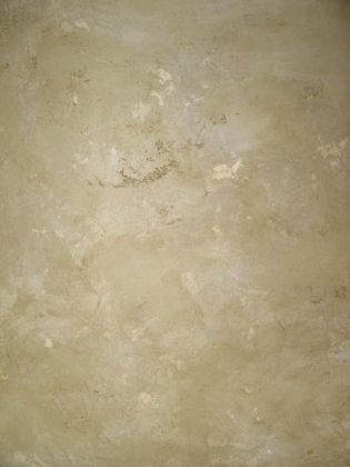 Plaster Faux Finish this sample was created with two tinted shades of plastertex