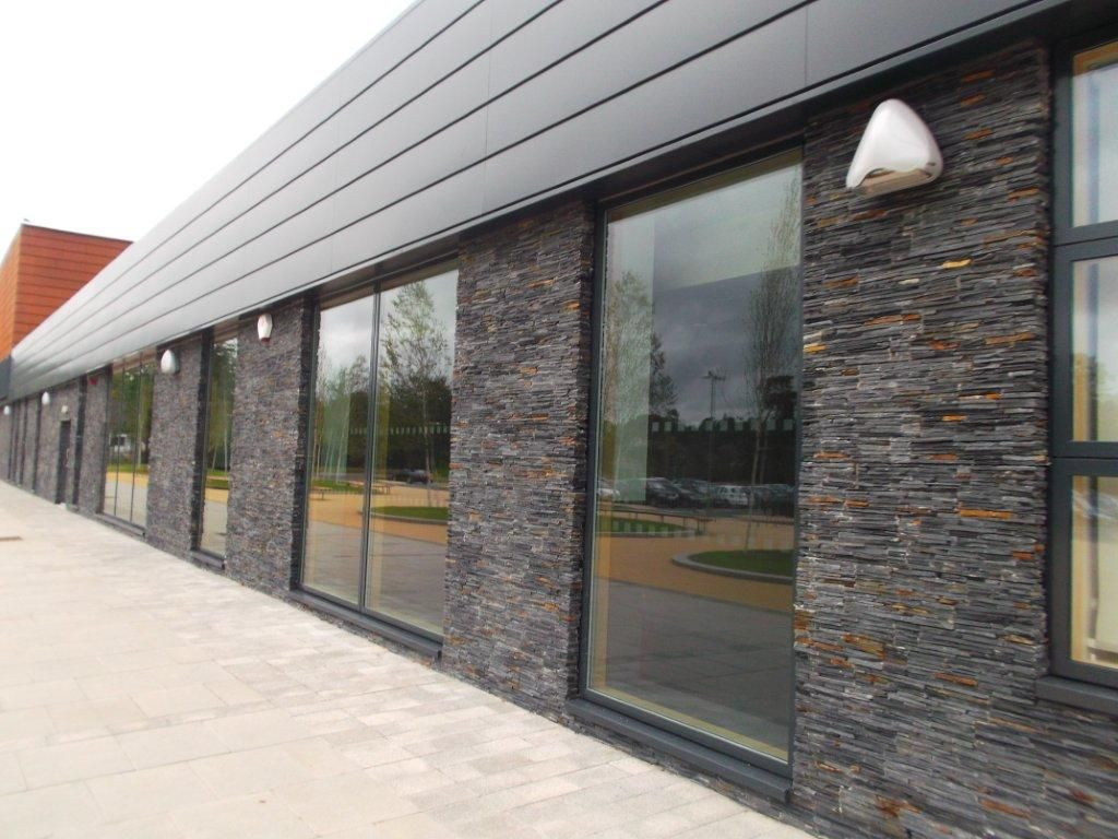 Stonepanel Shows Its Versatility For Stone Cladding The New Eastwood High School In Uk