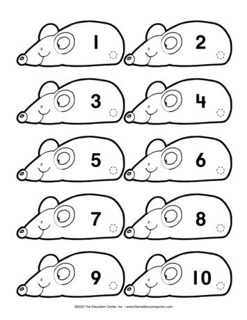 Mouse Math, Lesson Plans - The Mailbox