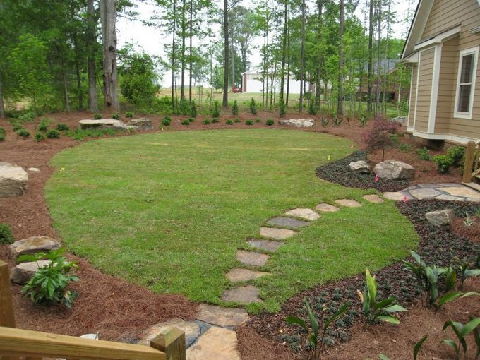 Landscaping Design Ideas After Swimming Pool Removal Filling In Convert