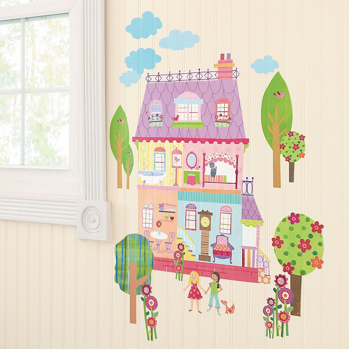 Sr interactive wall art for kids the company store creating