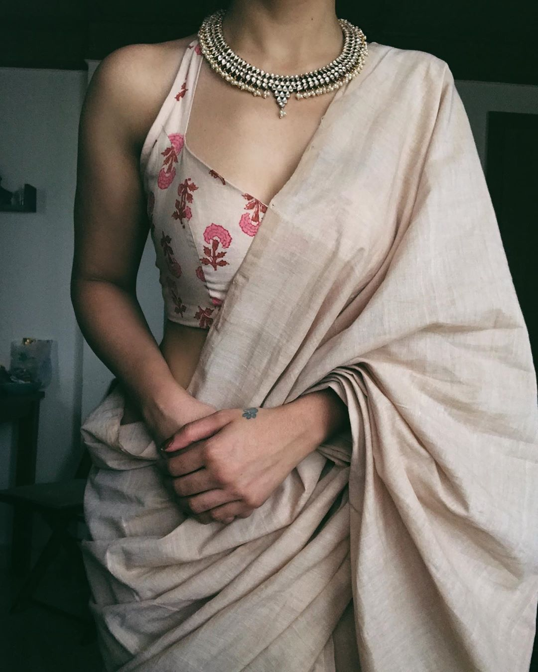 Silver Jewellery & Saree : How To Rock This Combin