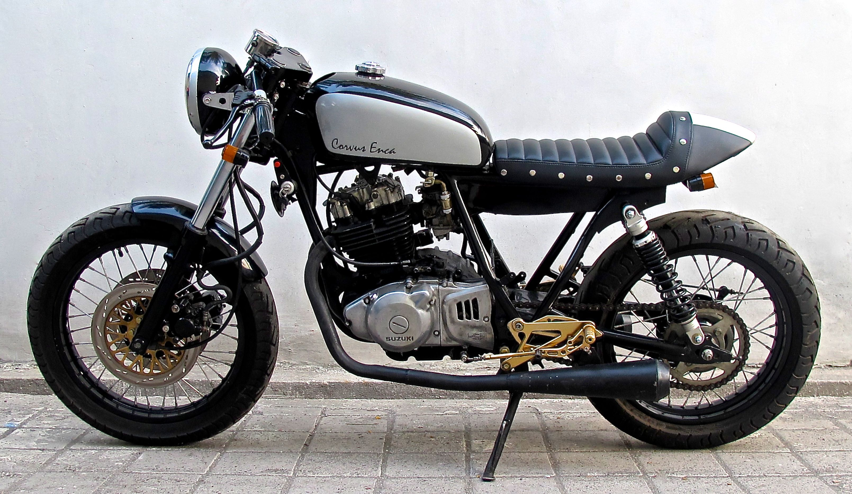 suzuki gsx 250cc ✮ cafe racer ✮ island motorcycles www