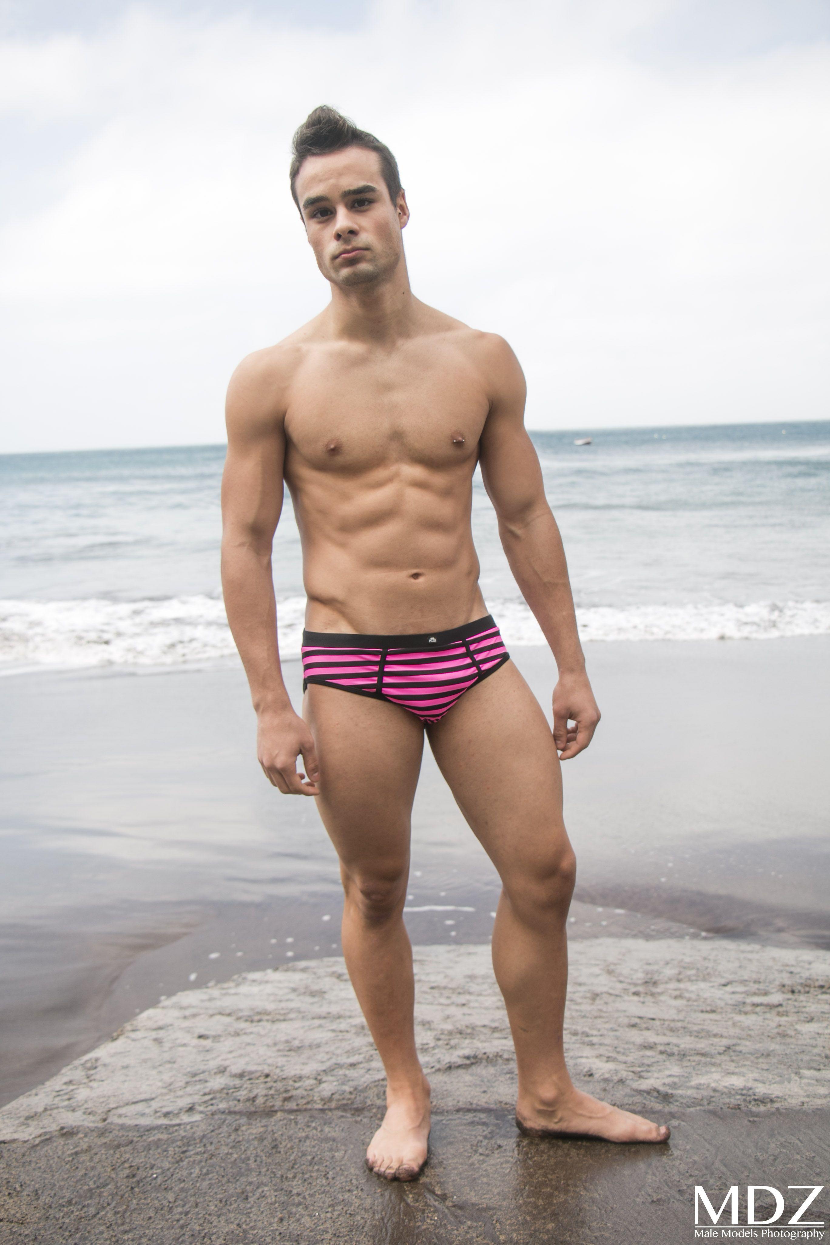 Underwear · Swimming · #male #model #MDZ #trunks #swimwear #beach #sand  #summer