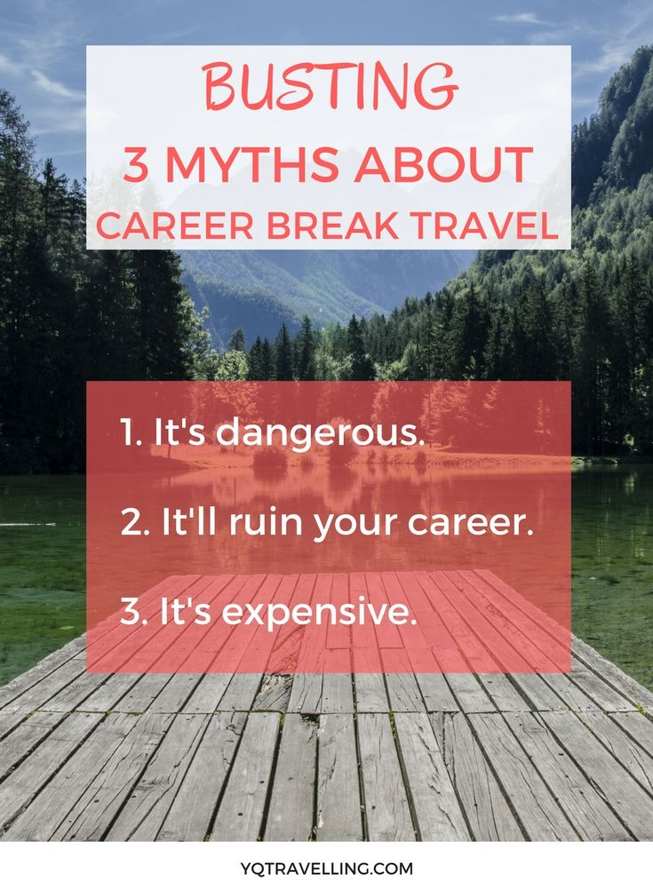 If you're considering taking a career break to travel, you might have heard some of the myths that are floating around. The top 3 myths I've encountered are: 1. It's dangerous 2. It'll ruin your career 3. It's expensive (I tackle this in my online workshop.) Not everything is is black or white (except pandas and B&W Instagram filters), there is some truth in each myth but those shouldn't be obstacles for you if you're planning a career break to travel.