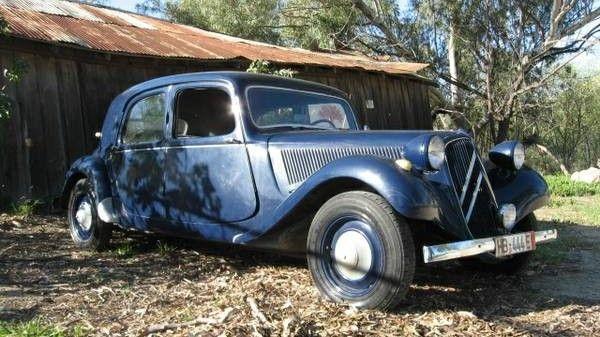 Am I Blue? 1955 Citroen Traction Avant 11 B - http://barnfinds.com/am-i-blue-1955-citroen-traction-avant-11-b/