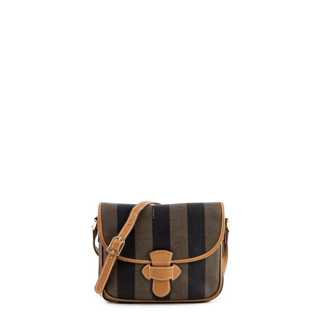 6e1999f748dd Fendi Striped Vintage Crossbody -  375 CAD
