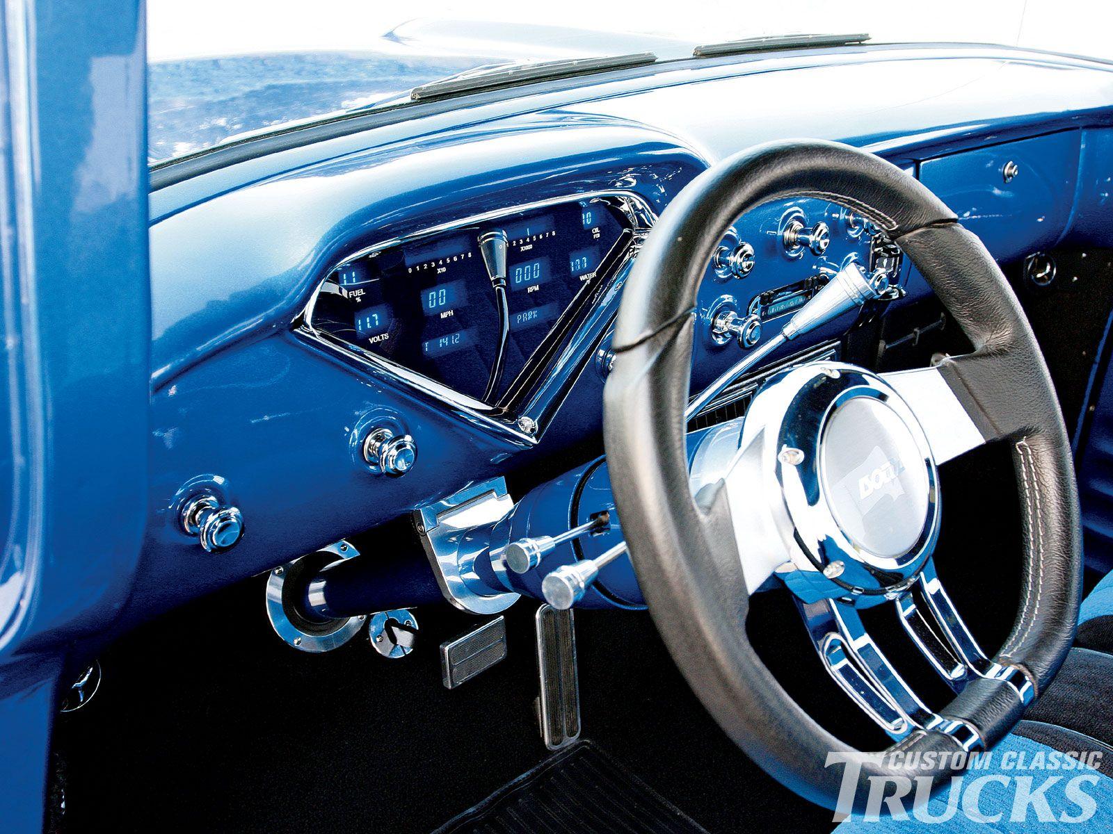 Custom 1958 Chevy Apache Pick Up Dashboard 1958 Chevy Truck