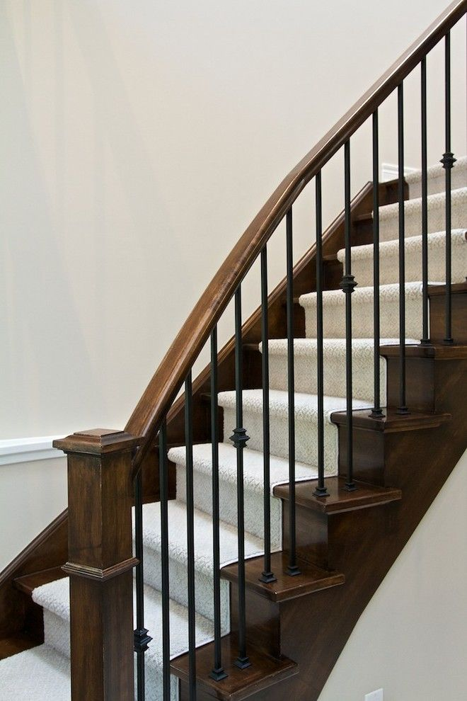 Pin By Anita Ou0027Connor On Stair Ideas In 2018 | Pinterest | Iron Spindles,  Staircases And Banisters