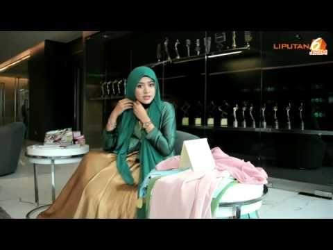 Cara Memakai Jilbab Pashmina Ke Pesta Simple Glamour By Natasha