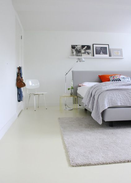 Contemporary Bedroom By Holly Marder   Another Great Way To Free Up Valuable  Space On The