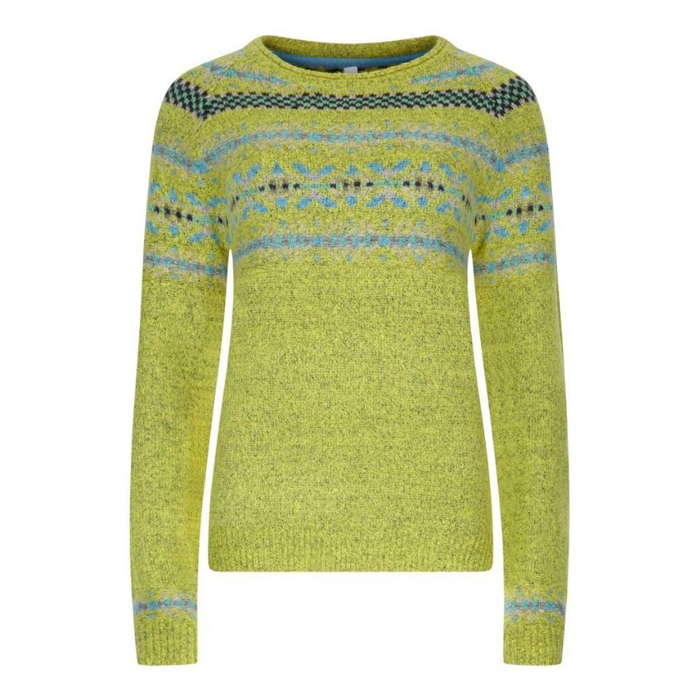 Choose the Zennia Fair Isle jumper this season for a timeless ...
