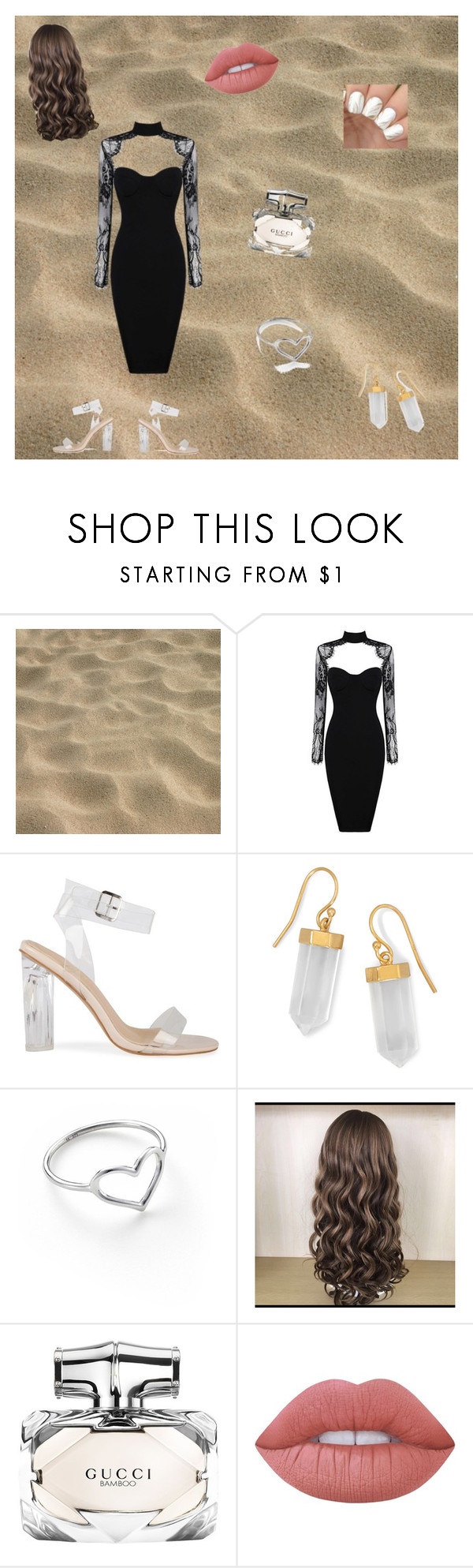 """""""Prom look #1"""" by emjaisme on Polyvore featuring BillyTheTree, Jordan Askill, Gucci and Lime Crime"""
