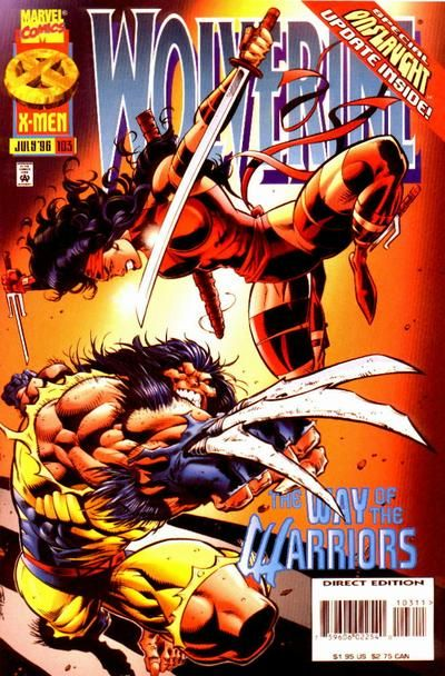 Wolverine Vol. 2 # 103 by Val Semeiks & Chad Hunt