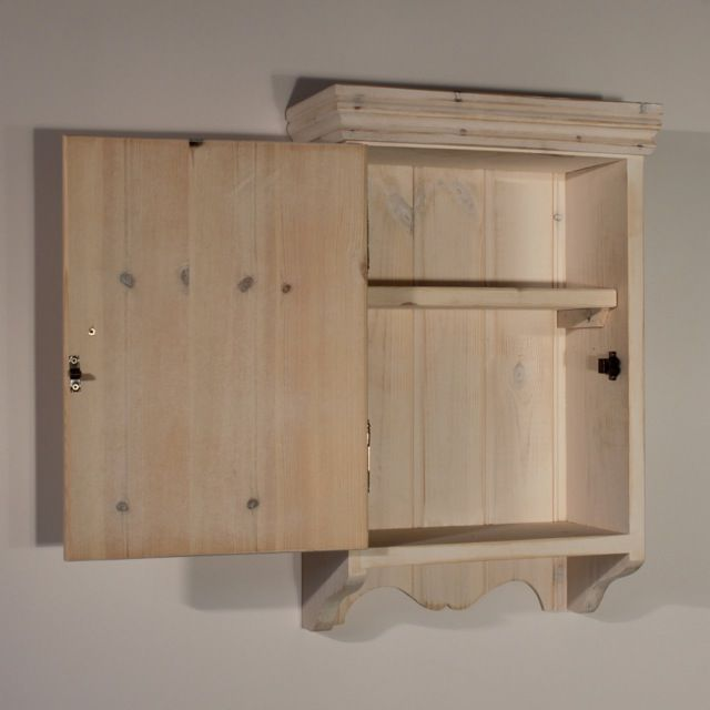 Bathroom wall cabinets unfinished wood are stylish | Bathroom ...