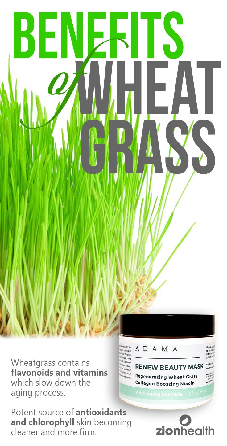 This mask contains regenerating wheat grass. The
