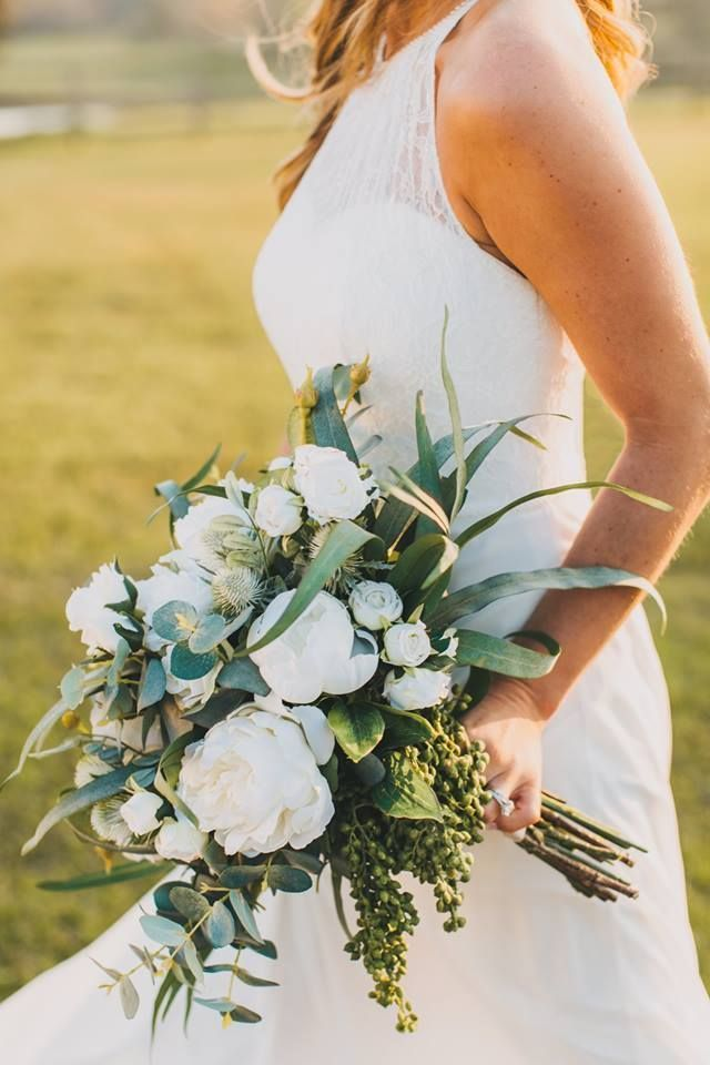 Olivia Bridal Bouquet #whitebridalbouquets The Olivia bridal bouquet is sure to impress, with a
