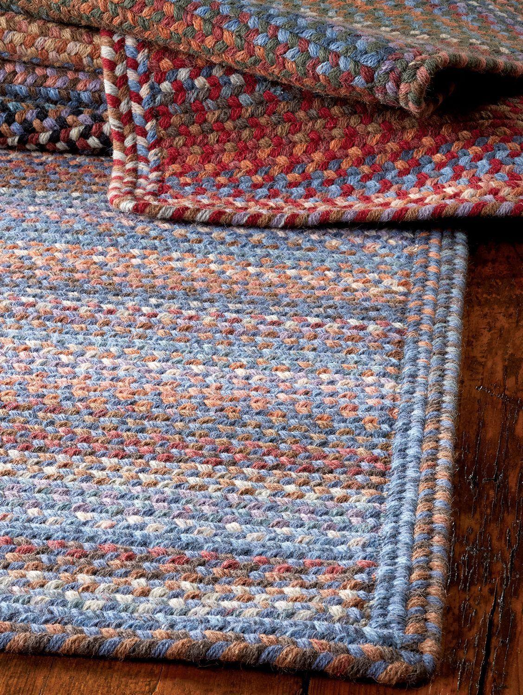Braided braided rugs diy crochet rectangle rug wool