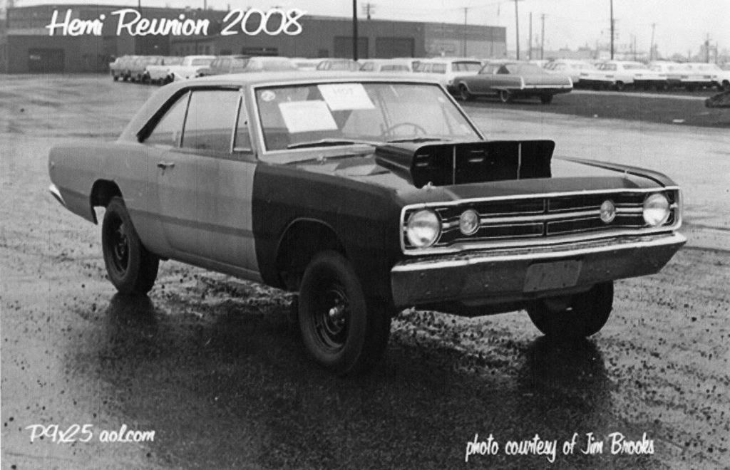1968 Hemi Dart as delivered to the selling dealership from Hurst